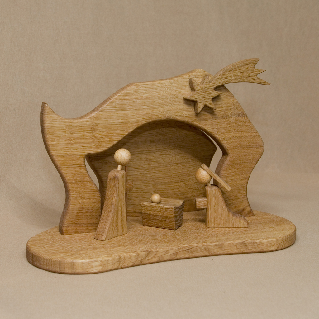 Moderne Weihnachtskrippe.Moderne Krippe Iii Holzdesign Kalkhof